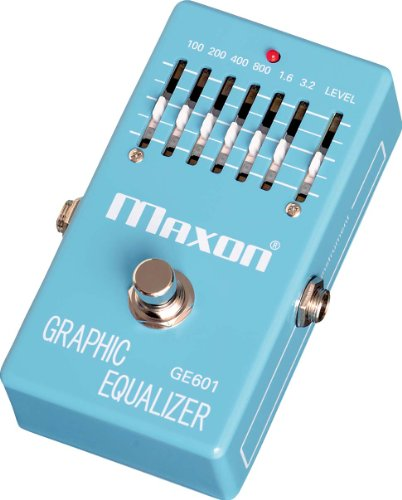 Maxon GE601 Graphic Equalizer · Guitar Effects