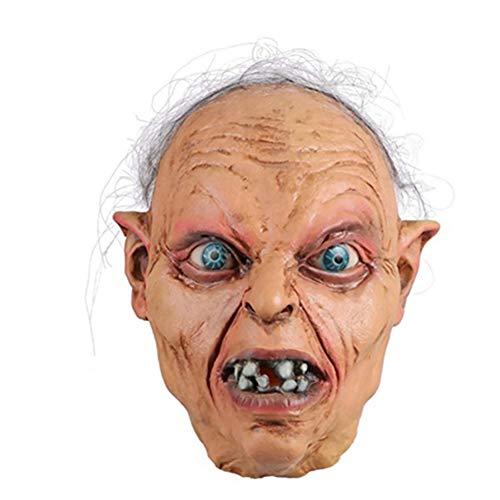 Halloween Ghost Festival Horror Maske Scary Zombie Headgear Filmrequisiten Herr Der Ringe Teufelsmaske