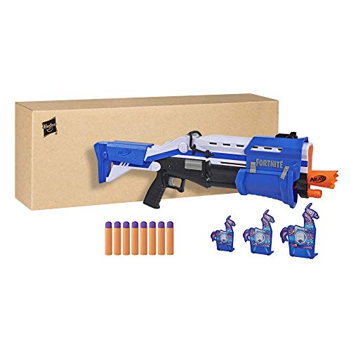 Fortnite TS-R - Tactical Shotgun, Blau mit Zubehör