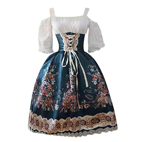 Allence Damen Viktorianisches Rokoko-Kleid, Inspiration Maiden Kostüm