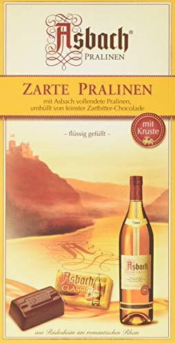 Asbach-Pralinen Packung mit Weihnachts-Aufkleber, 2er Pack (2 x 125 g)