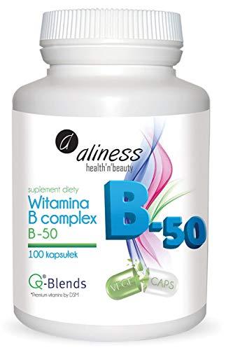 Vitamin B Complex B-50 100 Capsules Aliness