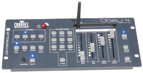 Chauvet Obey 4 D-Fi 2.4 - Lichtmixer Mischpult mit wireless D-Fi Sender