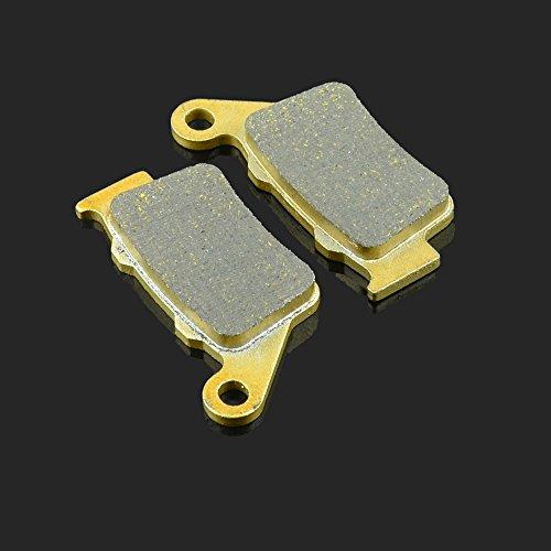 78.13 X 41,2 X 9 mm 1 paire de plaquettes de frein avant pour Borile CCM Dukati Honda CB 500 97–03 NX 500–97–99 – FX 650 99–03 SLR 650 97–98 NX 650 97–99