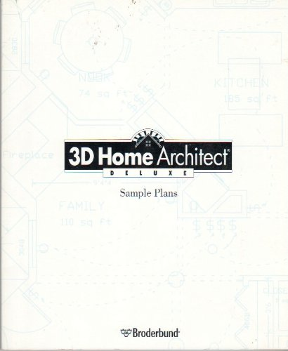 3D Home Architect Deluxe Sample Plans