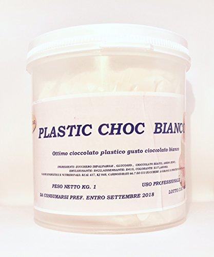 Cioccolato Plastico Bianco alta qualità Pasticcera. 1 kg