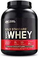 Optimum Nutrition Gold Standard 100% Whey Extreme Milk Chocolate Protein Powder, 2.27 Kilograms