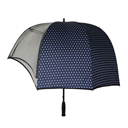 AniYY Paraguas cortavientos con forma de casco, diseño creativo, paraguas, paraguas, parasoles, casco vibrierender invertido, paraguas transparente