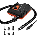 Best 12 Paddle Boards - Sup Electric Pump,16psi Sup Pump with 5 Nozzles,110w Review