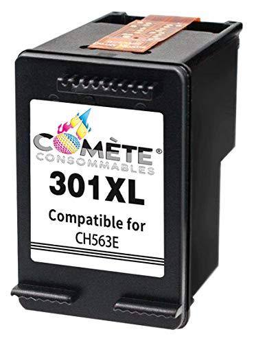 COMETE 301XL Cartouche d'Encre Compatible avec HP 301 XL (CH563E) pour Imprimante HP Officejet HP Envy remplacement cartouche origine