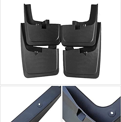 4pcs Coche Faldillas Antibarro para Ford Raptor F150 F-150 F 150 2015~2019, Delantero Trasero Salpicaduras Mud Flaps Resistentes Desgaste Protección Accessories