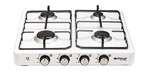 Why Choose itimat Slim Lux 4 Burners Lpg Gas Cooker 4010 Monoblock Body Structure, Enamel Cookware G...