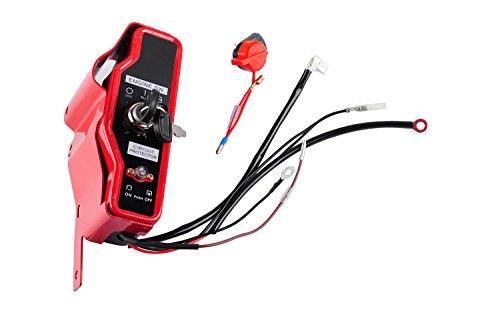 Poweka Ignition Key Switch for GX340 GX390 11hp 13hp Gas Engine - Engine Stop On Switch with Keys