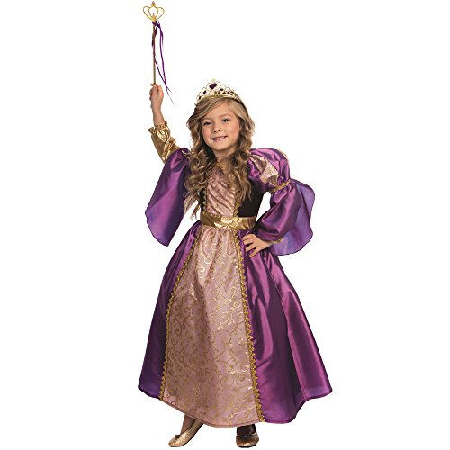 Dress Up America Purple Princess Princess Costume pour les filles Little Princess Dress par Dess Up America