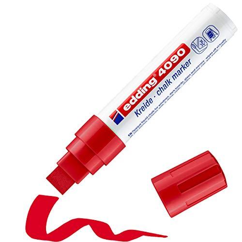 Edding 4-4090002 - Rotulador permanente, color rojo