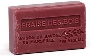 Provenzalische Seife Wald-Erdbeere Fraise des Bois mit Bio-Sheabutter 125 Gramm
