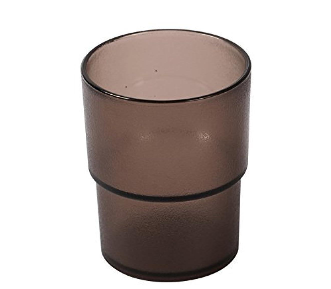 飲食店行政呼ぶタンブラー ブラウン色 60個セット(12個×5ケース) 業務用 コップ_FH70027NHB-12-5