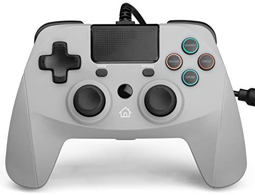 Snakebyte 4 S Gris Gamepad PlayStation 4, Playstation 3 - Volante/mando (256...