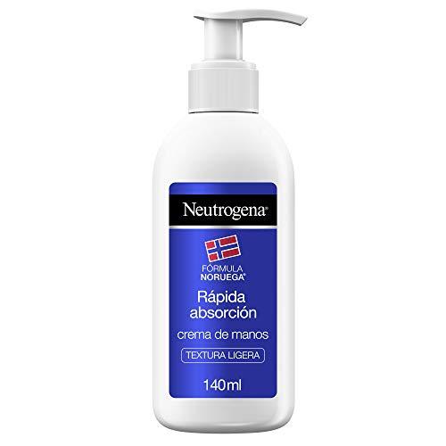 Neutrogena Crema de Manos Rápida Absorción Textura Ligera, 140 ml