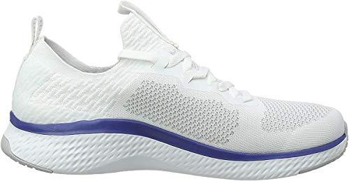 Skechers Herren SOLAR FUSE Slip On Sneaker, Weiß, 42 EU
