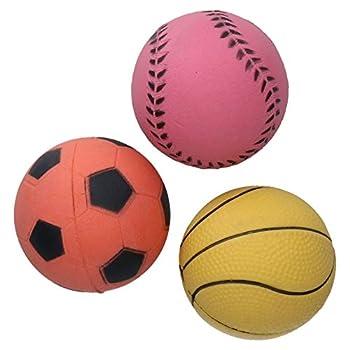 Rosewood Jouet Balle en Caoutchouc pour Activités Sportives pour Chiens