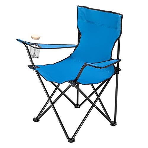 Sedia da Campeggio pieghevole, ICOCO Compatto, Ultraleggero Pieghevole Spiaggia Sedia Pieghevole Sedia da Pesca Pieghevole Sedia per Picnic/Escursionismo/Pesca/Grill/Spiaggia