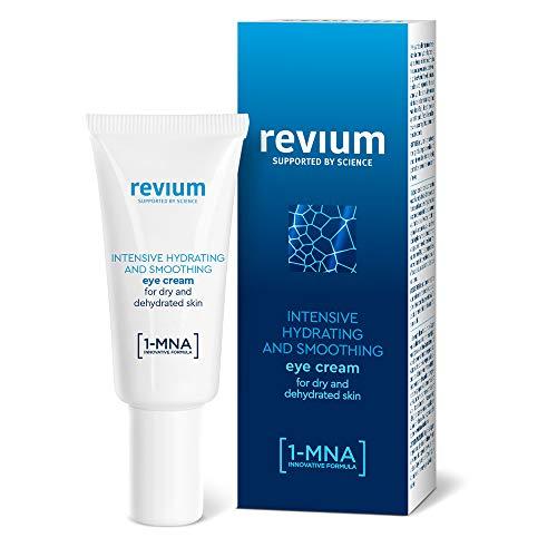 Revium Intensiv Feuchtigkeitsspendende Augencreme mit 1-MNA Molekül, Hyaluronsäure-Aktivator und NMF-Regenerationskomplex, 15ml