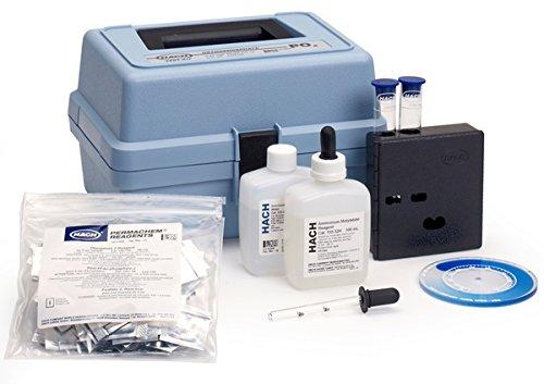 Hach 147500 Phosphorus, Orthophosphate (Reactive) Test Kit, Model PO-14