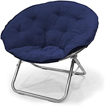 Urban Shop Micro Suede Saucer Chair