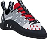 La Sportiva Women's Tarantulace Rock Climbing Shoes, Grey/Hibiscus, 39.5