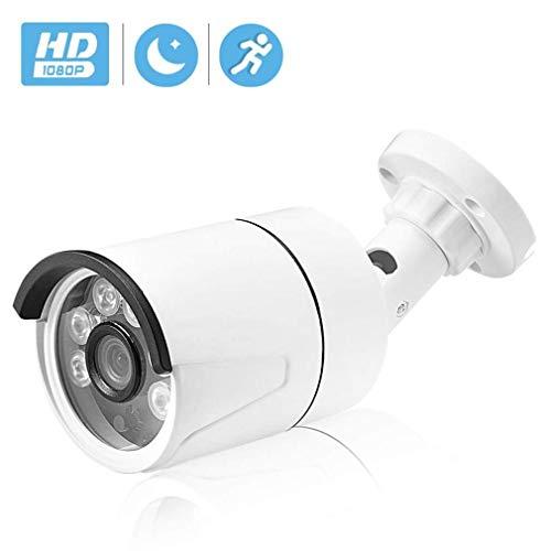 WYJW Außenüberwachungskamera, für den Außenbereich 1080P IP-Kamera IP65 Kostenloser Cloud-Speicher HD Außen-Infrarot-Nachtsicht-Datensicherheit mit Unterstützung für Server-App-Anweisun