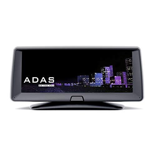 HUATINGRHDC Intelligent Dashcam Auto Kamera Dual Lens FHD 1080P Vorne und Hinten Kamera mit 170° Weitwinkelobjektiv, ADAS, AHD, Loop-Aufnahme, G-Sensor, Parkmonitor, GPS, Bild Umkehren HD