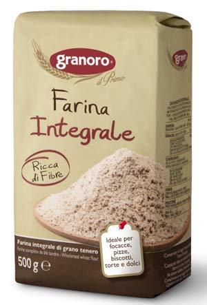 Granoro Farina Integrale 6 Pezzi Da 500 Grammi