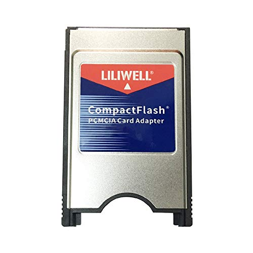 LILIWELL Compact Flash to PCMCIA Ata Adapter Laptop PCMCIA Compact Flash PC CF Card Reader Adapter