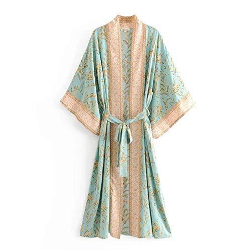 Seamido Women's Kimono Dressing ...