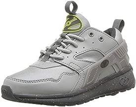 Heelys Boys' Force Tennis Shoe, Grey/Bright Yellow/Speckle, 13c M US Big Kid