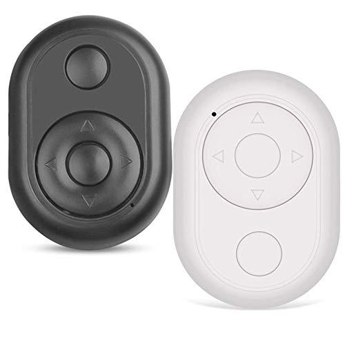 Control remoto de disparador de página con Bluetooth y disparador de cámara: mando a distancia de TikTok, botón inalámbrico Bluetooth para selfie, compatible con la mayoría de teléfonos inteligentes