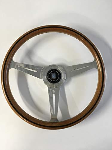 Unbekannt Nardi Lenkrad - Classic - 360 mm (14,17 Zoll) - Mahagoniholz mit polierten Speichen - Teilenummer 5061.36.3000 von NARDI