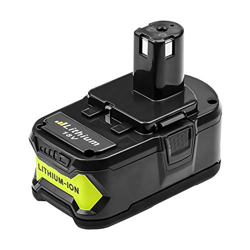 6.0Ah Replacement Battery Compatible with Ryobi 18V Lithium-ion ONE+ Plus Battery P102 P103 P104 P105 P107 P108 P109 P122 Cordless Power Tools