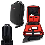 JetPack Snap Backpack for Non DVS, Club DJ Gig Set up, This Bag Protect Carry Mac, Laptop, Stand, Headphone, USB Mobile Devices, Cables, Microphone. Travel Friendly, Ultra Slim Design