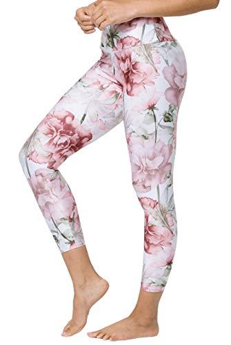 Onzie - Leggings de Yoga de Cintura Alta para Mujer - Rosa - S/M