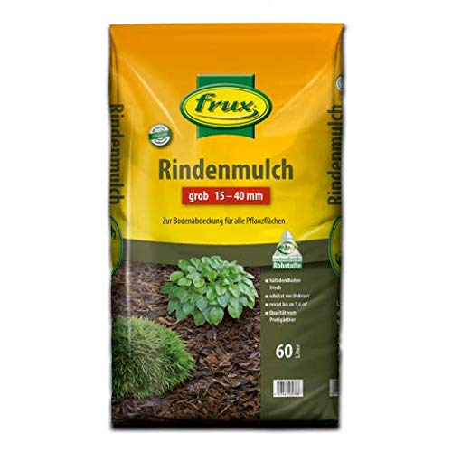 frux Rindenmulch grob 15 – 40 mm 60 Liter
