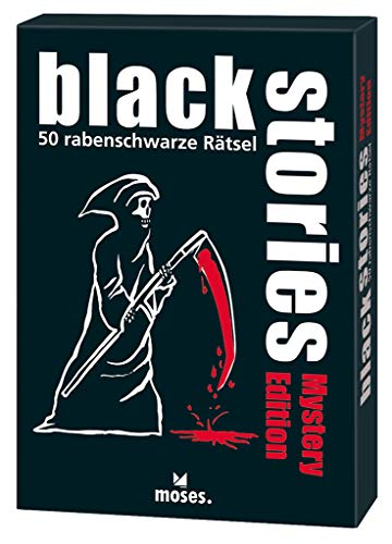 black stories - Mystery Edition: 50 rabenschwarze Rätsel