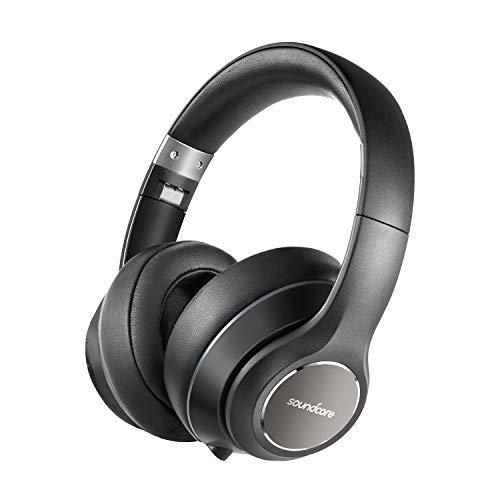 Soundcore Vortex Wireless Bluetooth Over-Ear Headphone With Mic (Black)