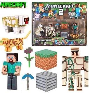 Minecraft Toys Figures Mini Diamond Sword 12 PCS Lego for Kids Action Gift By PRIME TECH ™ (Set 2)