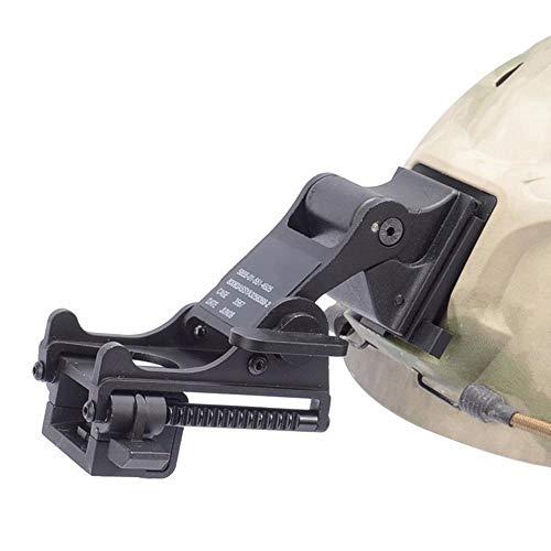 Tactical Sports Helmets Mounting Bracket for Rhino NVG PVS-14/PVS-7 Night Vision Fast ACH PASGT MICH Helmets M88 (Black)