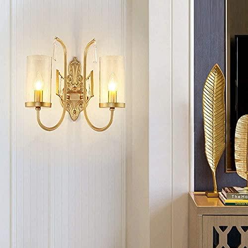 TAIDENG Lámpara de luz de la pared Lámpara de pared Lámpara de pared del hogar Pasillo Corredor Misterioso Cristal de cristal TV Teléfono Lámpara de pared decorativa 36 cm * 18 cm * 35 cm