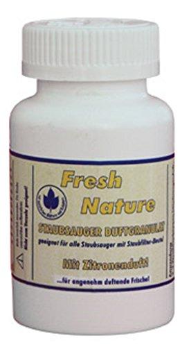 Fresh Nature Staubsauger Duftgranulat, Zitronenduft, für alle Staubsauger mit Staubfilterbeutel, 140ml