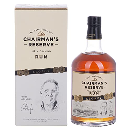 Chairman's Reserve Rum LEGACY EDITION 43% - 700ml in Giftbox