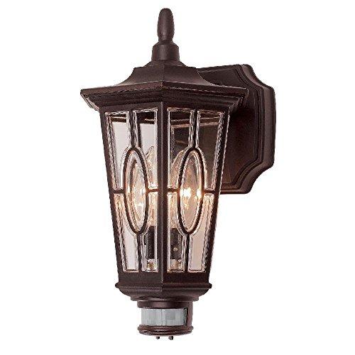 Hampton 7972-28BZ Carousel - Lámpara de sensor de movimiento, color bronce